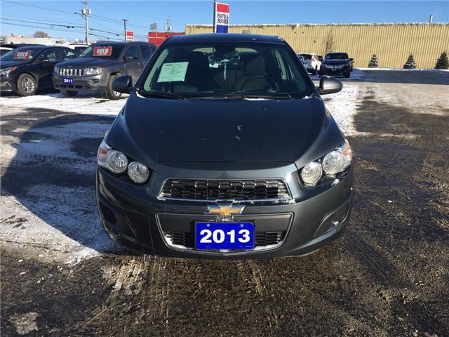 2013 Chevrolet Sonic LT Auto (Stk: 18645) in Sudbury - Image 2 of 13