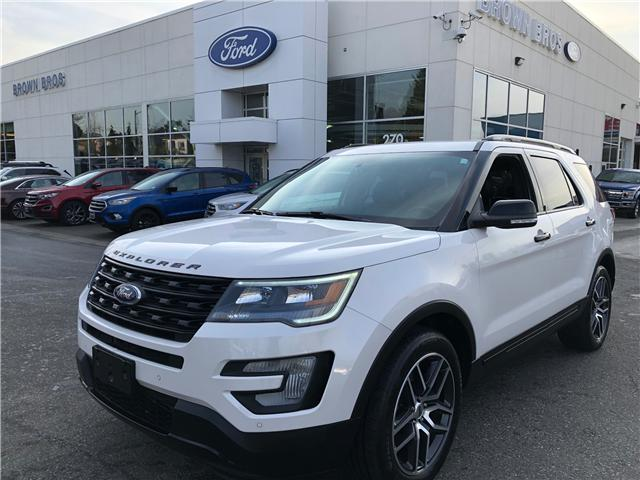2017 Ford Explorer Sport (Stk: OP18360) in Vancouver - Image 1 of 27