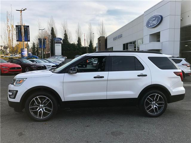 2017 Ford Explorer Sport (Stk: OP18360) in Vancouver - Image 2 of 27