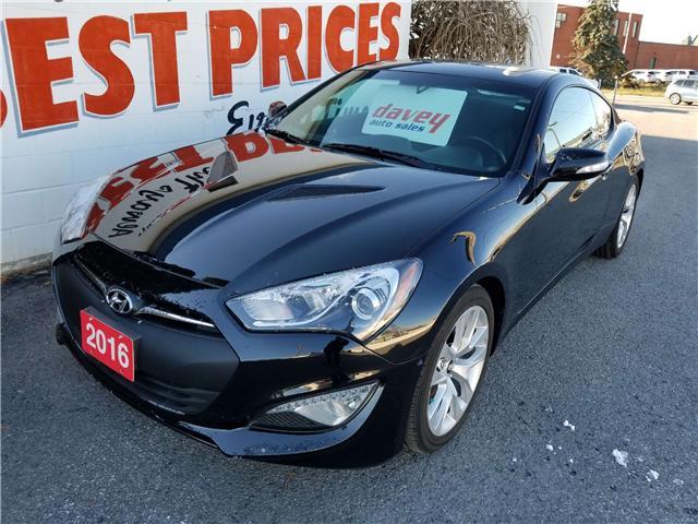 2016 Hyundai Genesis Coupe 3.8 Premium (Stk: 18-295) in Oshawa - Image 1 of 18