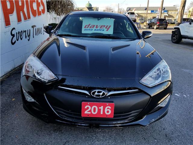 2016 Hyundai Genesis Coupe 3.8 Premium (Stk: 18-295) in Oshawa - Image 2 of 18