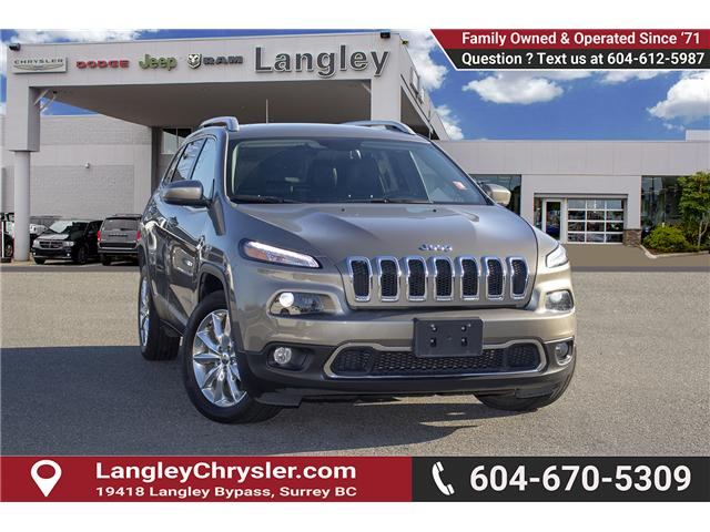 2017 Jeep Cherokee Limited (Stk: EE899250) in Surrey - Image 1 of 29