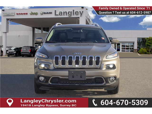2017 Jeep Cherokee Limited (Stk: EE899250) in Surrey - Image 2 of 29