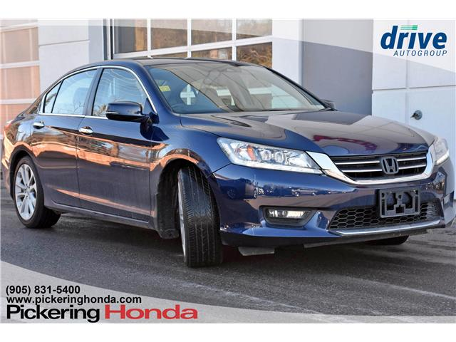 2015 Honda Accord Touring (Stk: P4474) in Pickering - Image 1 of 26