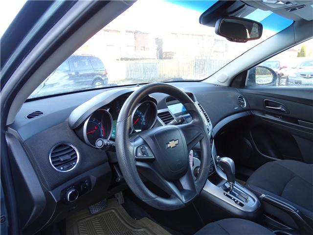 2012 Chevrolet Cruze LT Turbo (Stk: ) in Oshawa - Image 9 of 12