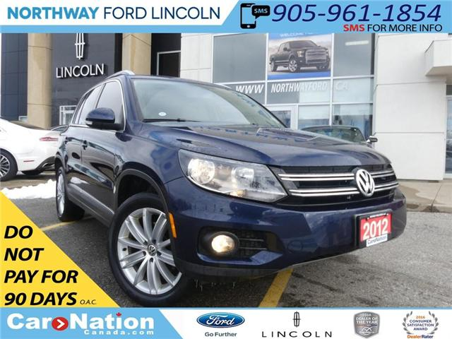 2012 Volkswagen Tiguan 2.0 TSI Highline|PANO ROOF|SAT RADIO|HTD LEATHER| (Stk: LX89729A) in Brantford - Image 1 of 23