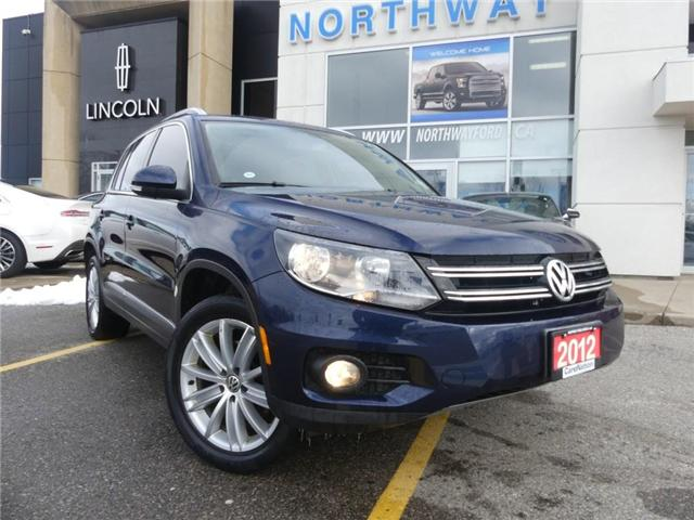 2012 Volkswagen Tiguan 2.0 TSI Highline|PANO ROOF|SAT RADIO|HTD LEATHER| (Stk: LX89729A) in Brantford - Image 2 of 23