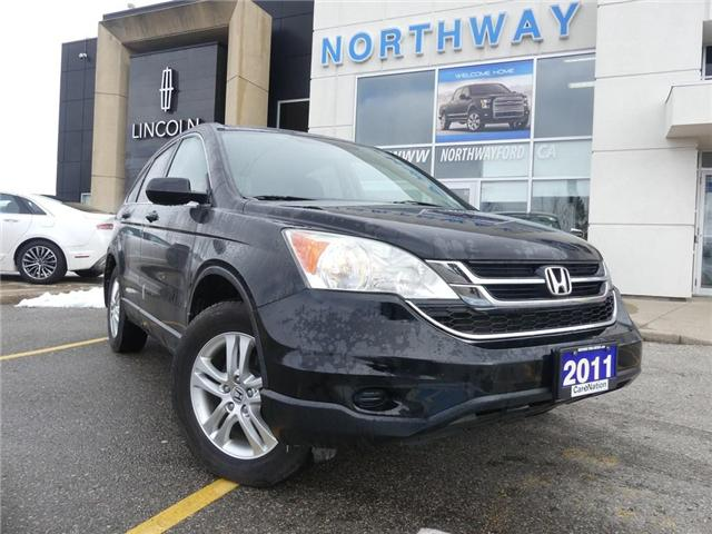 2011 Honda CR-V EX-L 4WD | HEATED LEATHER | MOON ROOF | TOW PKG | (Stk: P5065A) in Brantford - Image 2 of 23