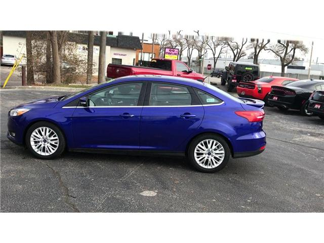 2015 Ford Focus Titanium (Stk: 181018A) in Windsor - Image 5 of 11
