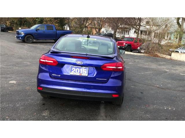 2015 Ford Focus Titanium (Stk: 181018A) in Windsor - Image 7 of 11