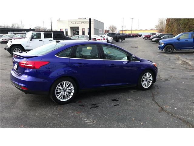 2015 Ford Focus Titanium (Stk: 181018A) in Windsor - Image 8 of 11