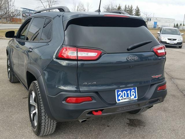 2016 Jeep Cherokee Trailhawk (Stk: K701A) in Milton - Image 2 of 17