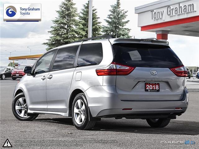 2018 Toyota Sienna LE 8-Passenger (Stk: U9048) in Ottawa - Image 4 of 25