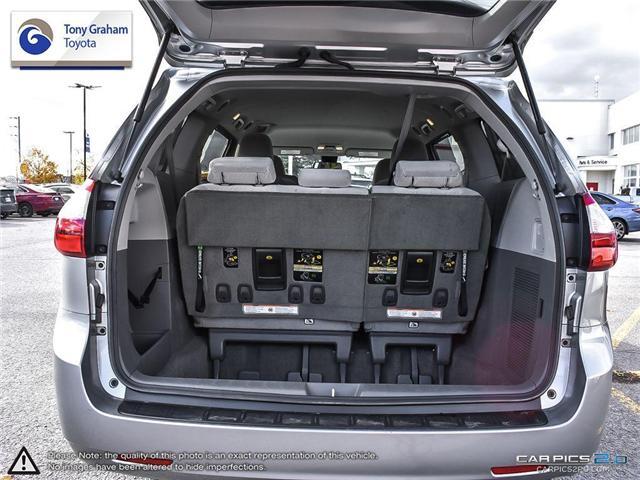 2018 Toyota Sienna LE 8-Passenger (Stk: U9048) in Ottawa - Image 11 of 25