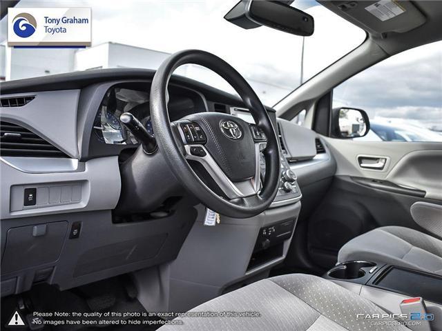2018 Toyota Sienna LE 8-Passenger (Stk: U9048) in Ottawa - Image 13 of 25