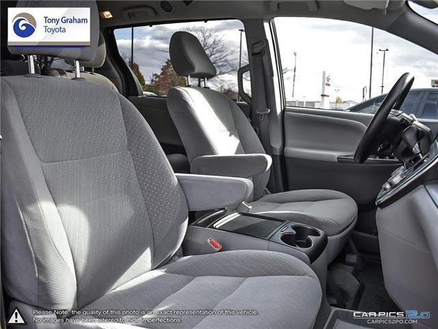 2018 Toyota Sienna LE 8-Passenger (Stk: U9048) in Ottawa - Image 21 of 25