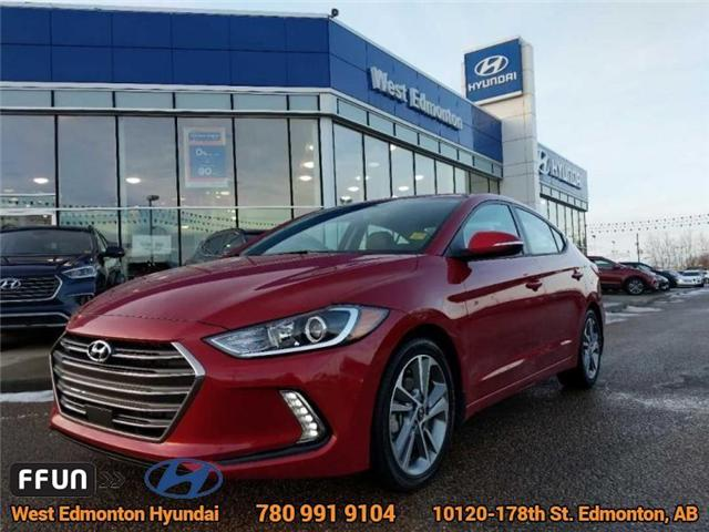 2018 Hyundai Elantra GLS (Stk: E4202) in Edmonton - Image 1 of 22