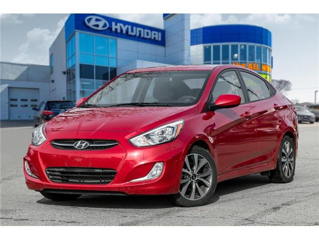 2017 Hyundai Accent  (Stk: H7716PR) in Mississauga - Image 1 of 20