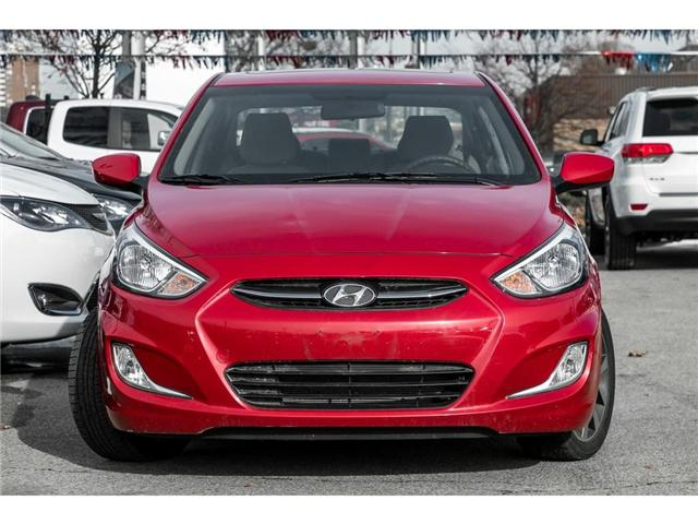 2017 Hyundai Accent  (Stk: H7716PR) in Mississauga - Image 2 of 20