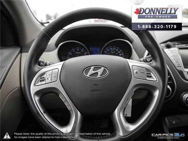 2010 Hyundai Tucson Limited (Stk: PBWKR575DTA) in Kanata - Image 13 of 28