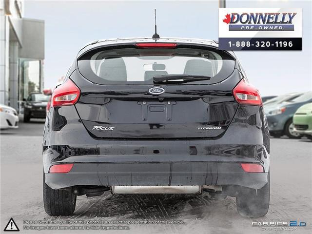 2018 Ford Focus Titanium (Stk: CLMUR927) in Kanata - Image 5 of 30