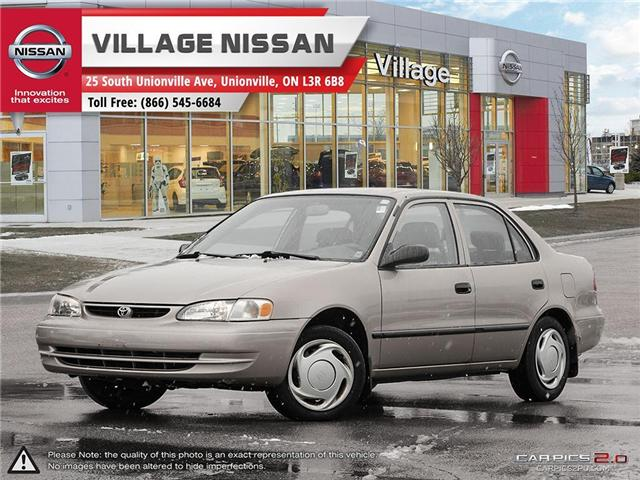 2000 Toyota Corolla Base (Stk: 80737A) in Unionville - Image 1 of 27