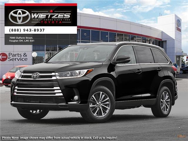 2019 Toyota Highlander XLE AWD (Stk: 67646) in Vaughan - Image 1 of 23