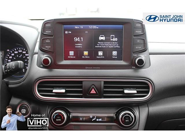 2018 Hyundai KONA 2.0L Luxury (Stk: U1957) in Saint John - Image 14 of 23