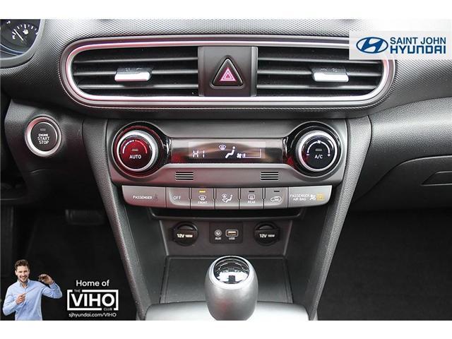 2018 Hyundai KONA 2.0L Luxury (Stk: U1957) in Saint John - Image 17 of 23