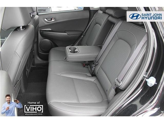 2018 Hyundai KONA 2.0L Luxury (Stk: U1957) in Saint John - Image 20 of 23