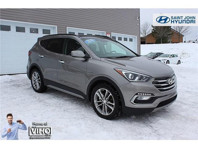 2018 Hyundai Santa Fe Sport 2.0T Limited (Stk: U1959) in Saint John - Image 1 of 24