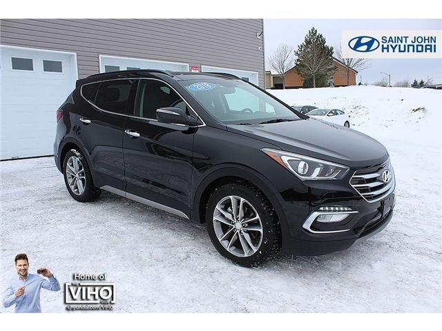 2018 Hyundai Santa Fe Sport  (Stk: U1958) in Saint John - Image 1 of 24