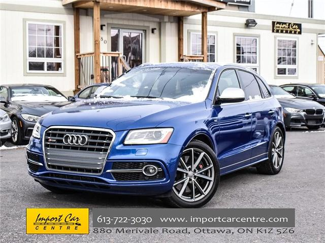 2016 Audi SQ5 3.0T Technik (Stk: 017941) in Ottawa - Image 1 of 25
