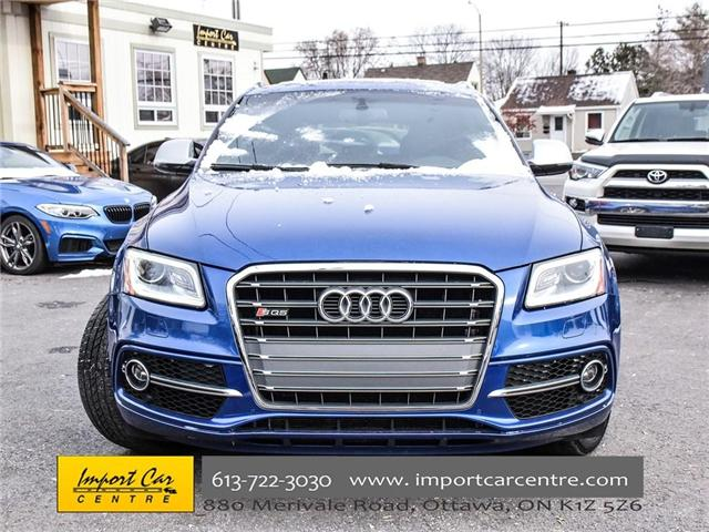 2016 Audi SQ5 3.0T Technik (Stk: 017941) in Ottawa - Image 2 of 25
