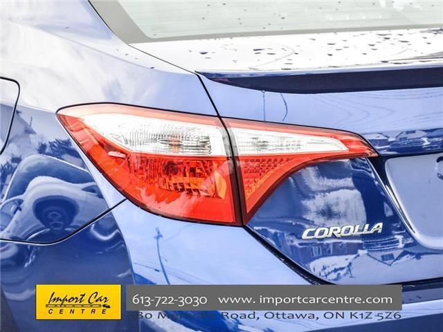 2015 Toyota Corolla S (Stk: 334702) in Ottawa - Image 7 of 24