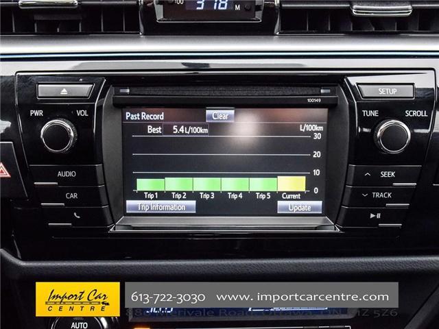 2015 Toyota Corolla S (Stk: 334702) in Ottawa - Image 18 of 24