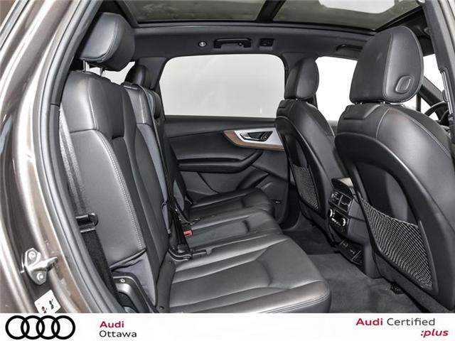 2017 Audi Q7 3.0T Progressiv (Stk: PA511) in Ottawa - Image 18 of 22
