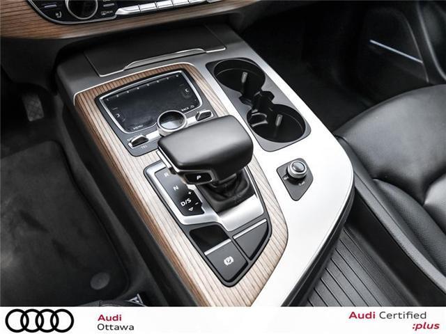 2017 Audi Q7 3.0T Progressiv (Stk: PA511) in Ottawa - Image 20 of 22