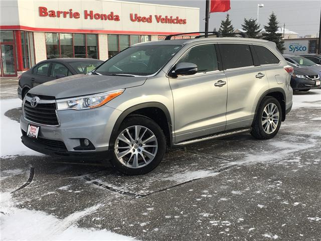 2015 Toyota Highlander  (Stk: U15460) in Barrie - Image 1 of 17