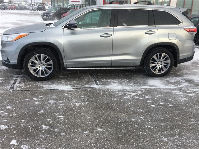 2015 Toyota Highlander  (Stk: U15460) in Barrie - Image 2 of 17