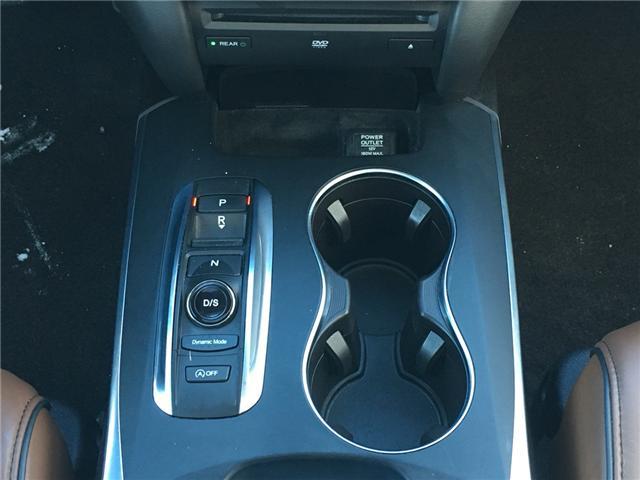 2017 Acura MDX Elite Package (Stk: P00042) in Barrie - Image 15 of 17
