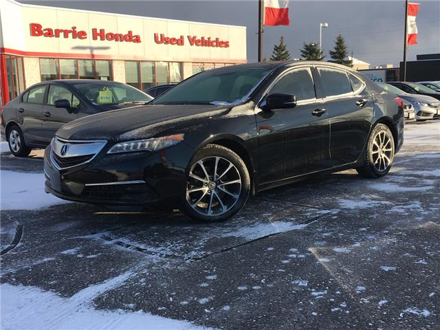 2016 Acura TLX Tech (Stk: P00041) in Barrie - Image 1 of 14