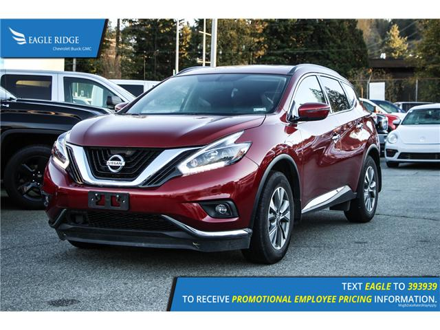 2017 Nissan Murano SV (Stk: 179128) in Coquitlam - Image 1 of 6