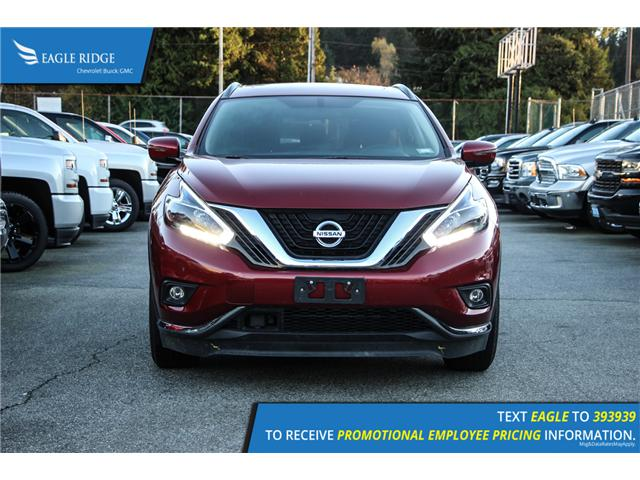 2017 Nissan Murano SV (Stk: 179128) in Coquitlam - Image 2 of 6