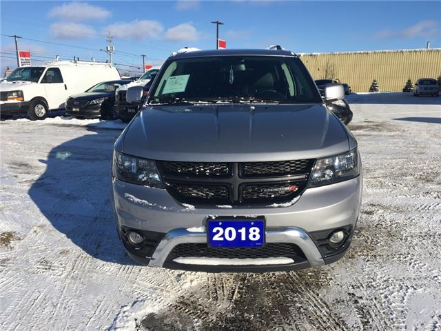 2018 Dodge Journey Crossroad (Stk: 18655) in Sudbury - Image 2 of 14