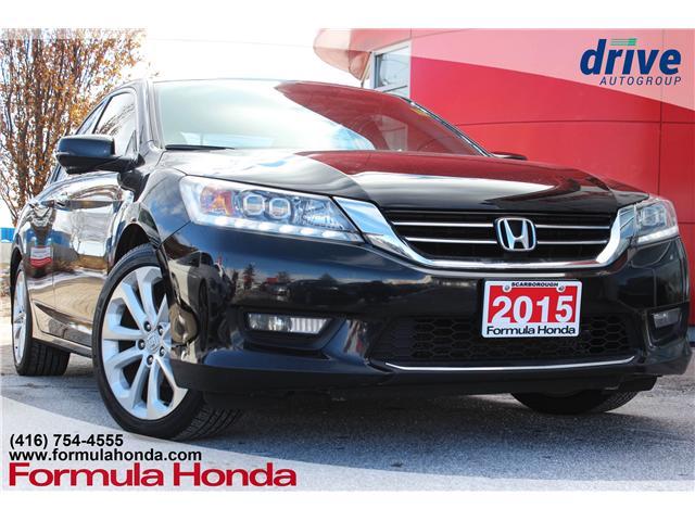 2015 Honda Accord Touring (Stk: B10740) in Scarborough - Image 1 of 33