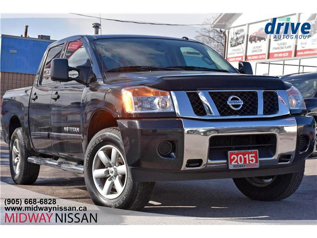2015 Nissan Titan SV (Stk: JW280133A) in Whitby - Image 1 of 18