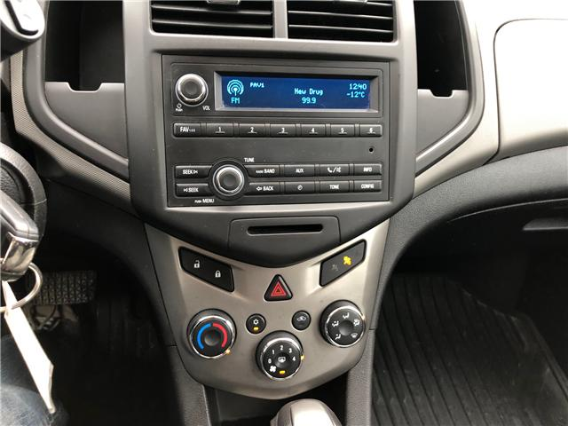 2012 Chevrolet Sonic LS (Stk: ) in Winnipeg - Image 18 of 23