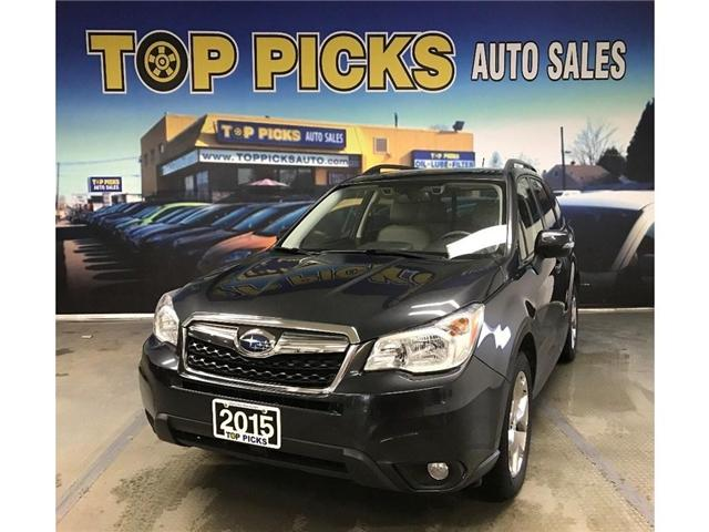 2015 Subaru Forester  (Stk: 424512) in NORTH BAY - Image 1 of 30