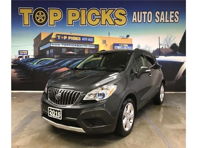 2016 Buick Encore Base (Stk: 703342) in NORTH BAY - Image 1 of 28